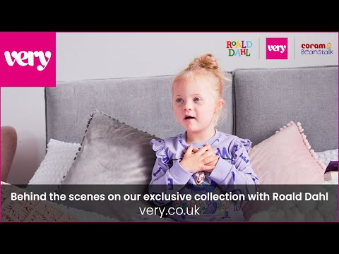 very.co.uk & Very Promo Code video: Behind the scenes on our exclusive collection with Roald Dahl