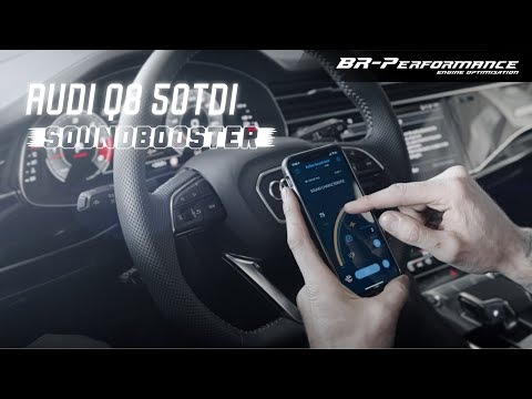 Audi Q8 50TDI / Active Soundbooster With App Control / By BR-Performance