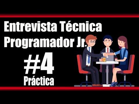 ¿Quieres Trabajar cómo Programador jr?  Prepárate la entrevista técnica con esta práctica!!