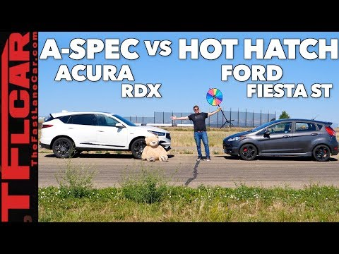 Game Show: Is the New Acura RDX A-Spec Faster Than a Hot Hatch? Ep.5