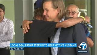 El Paso man who lost wife in mass shooting gets new SUV from community | ABC7