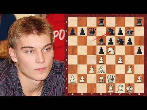 Amazing Chess Game: Vladislav Kovalev wins Aeroflot 2018 : Game vs Rasmus Svane: Caro-Kann Defense