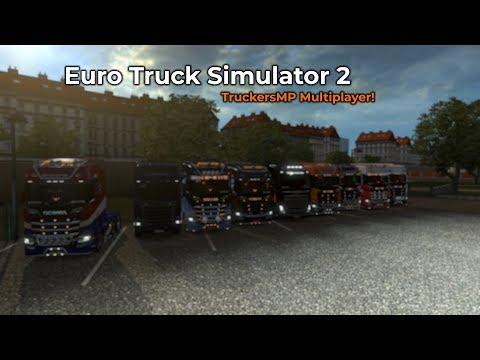 Euro Truck Simulator 2  TruckersMP Opname 15032018