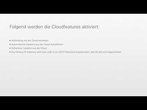 Schüco Building Skin Control - Einstellung IP Gateway