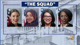 War Of Words Between Democratic Congresswomen, President Trump
