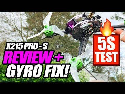 Furibee X215 PRO S - EASY GYRO FIX! - LOS, 5S FPV [ Honest Review ]
