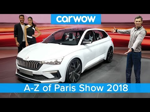 Best new cars coming 2019-2020 - my A-Z guide of the Paris Motor Show | carwow - UCUhFaUpnq31m6TNX2VKVSVA