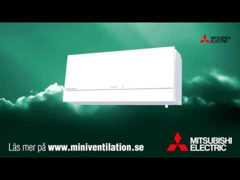 Mitsubishi Electric - Miniventilation - Vädra med stängda fönster