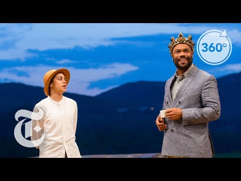 Shakespeare, Under The Sky And Around the Globe | The Daily 360 | The New York Times