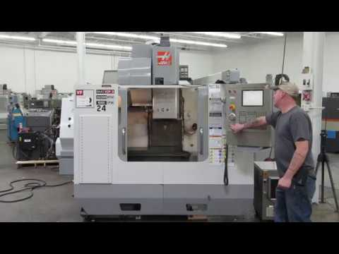 Haas VF-2 30,000 RPM CNC Vertical Machining Center with 4th Axis Drive
