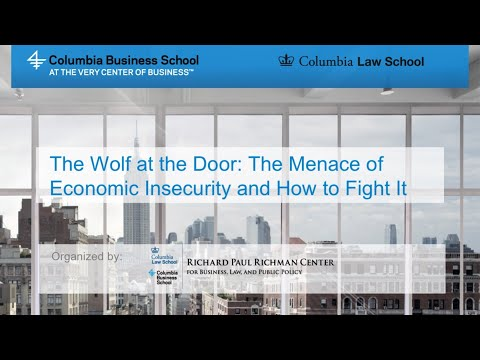 The Wolf at the Door: The Menace of Economic Insecurity and How to Fight It