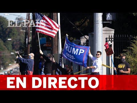 #DIRECTO | Seguidores de TRUMP a las puertas del WALTER REED HOSPITAL