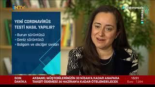 Uzm. Dr. Melda Özdamar - Yeni Coronavirus (COVID-19) testi nedir? Yeni Coronavirüs testi nerede yapılır? - NTV
