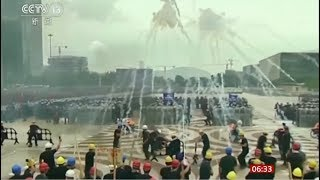 Protests as 11th week begins - both sides (Hong Kong) - BBC News - 17th August 2019