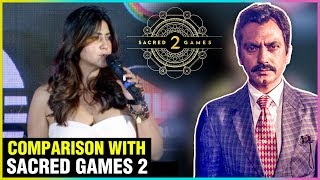 Ekta Kapoor Reacts On Sacred Games Competition With Her Web Series | M.O.M Show Launch