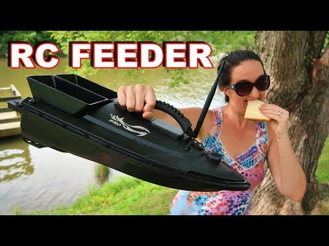 Feeding Nemo - Hunting For Fish with a BAIT BOAT! - TheRcSaylors - UCYWhRC3xtD_acDIZdr53huA