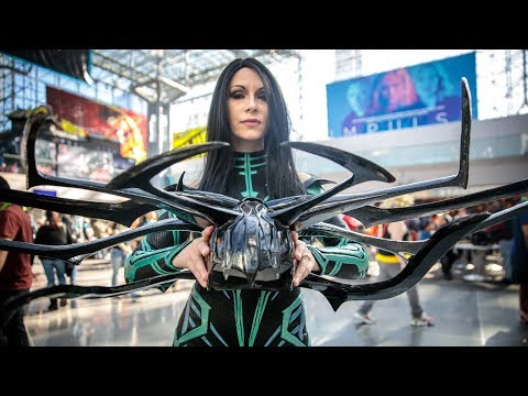 Cosplayer Beverly Downen Shows Adam Savage Her Rebuilt Hela Costume! - UCiDJtJKMICpb9B1qf7qjEOA