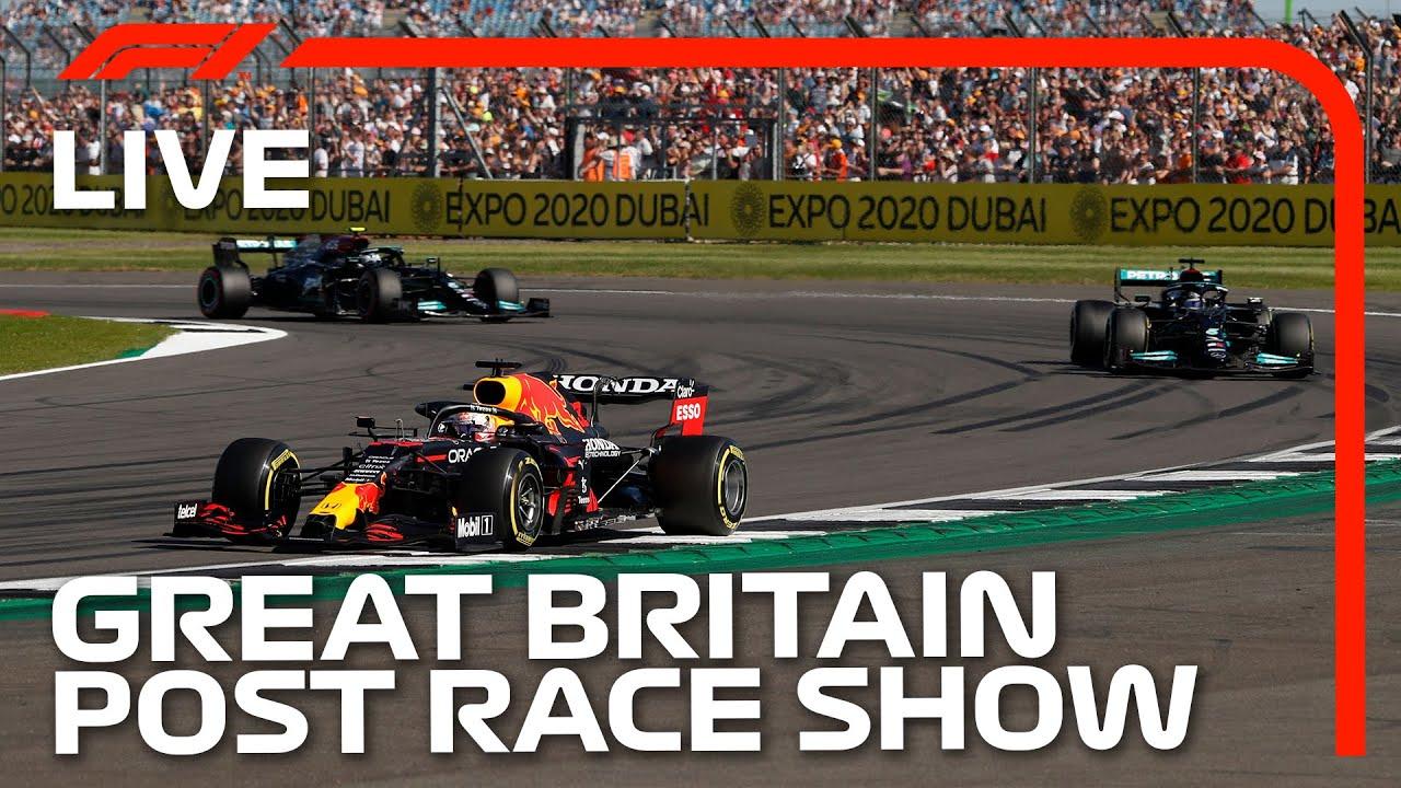 F1 LIVE: British GP Post-Race Show