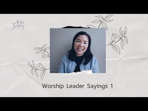 Aarks' Journey - Ep.24 Worship Leader Sayings 1