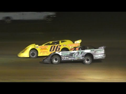 The ULMS Super Late Model 'Stephanie Eckl Memorial/RaceFan 50' during Night Two of the 11th Annual 'Fall Classic' at McKean County Raceway on Saturday, October 15th, 2016! - dirt track racing video image