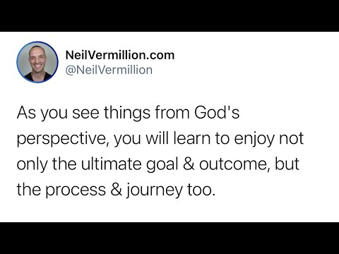Enjoying The Process And The Journey - Daily Prophetic Word