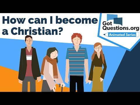 How can I become a Christian?