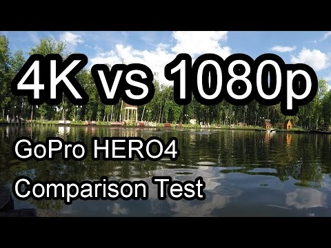 GoPro Hero4 4K vs 1080p | GoPro Resolution Comparison | Sharpness Test in Different Resolutions