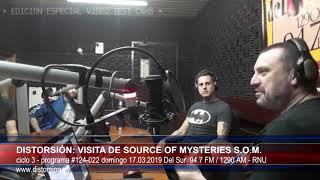 """""""Distorsión y la Fuente de los Misterios (Source  of Mysteries)""""  #124-022 dom 17.03.2019"""