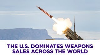 Lockheed Martin, Boeing, and Raytheon are the world's top weapon manufacturers.