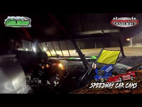 #22 Tim Petty - Cash Money Late Model - 4-11-2021 Springfield Raceway - In Car Camera - dirt track racing video image