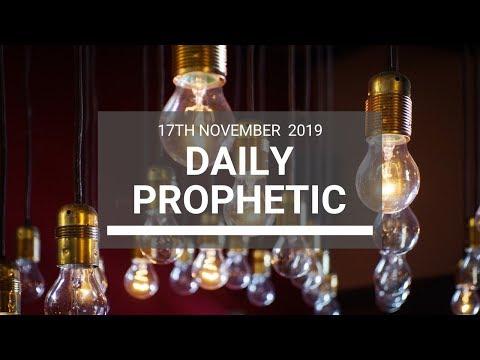 Daily Prophetic 17 November Word 7