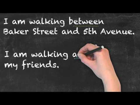 Between vs Among - English Grammar - Teaching Tips
