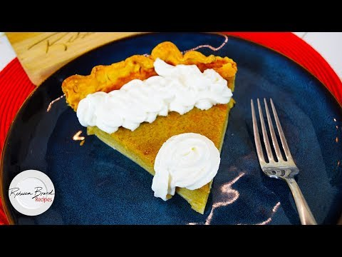 Custard Pumpkin Pie Recipe from Scratch - UCcw6sOZLSgXCJO16d5CANFg