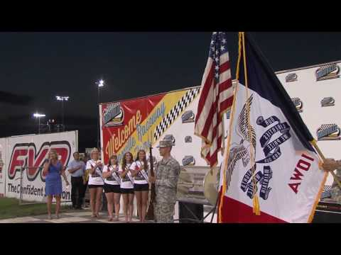 Brownell's Support the Troops Night! - dirt track racing video image