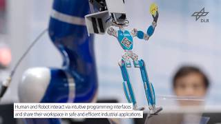 Factory of the Future Intelligent Robots for digitally driven Production / DLRRMC