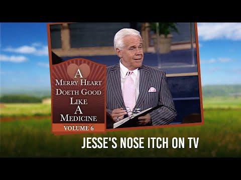 Merry Heart: Jesse's Nose Itch on TV  Jesse Duplantis