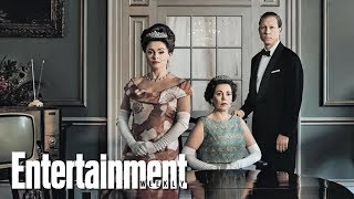 'The Crown's Olivia Colman, Tobias Menzies & More On New Season | Cover Shoot | Entertainment Weekly