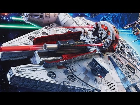 Unboxing the Star Wars: The Force Awakens Battle Action Millennium Falcon - UCKy1dAqELo0zrOtPkf0eTMw
