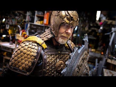 Adam Savage's Gorgeous Great Wall Armor! - UCiDJtJKMICpb9B1qf7qjEOA