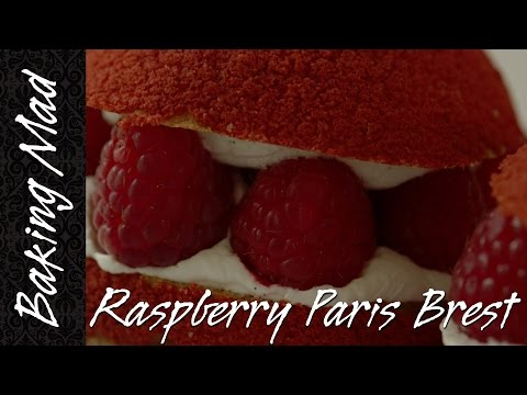 Baking Mad Monday: Raspberry Paris Brest