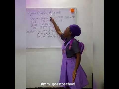 #mm1goestoschool(comedy skit)
