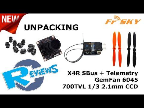 FrSky X4RSB. GemFan 6x45, 700TVL Ultralight SONY camera and more from BangGood - UCv2D074JIyQEXdjK17SmREQ