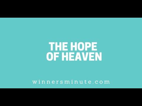 The Hope of Heaven // The Winner's Minute With Mac Hammond