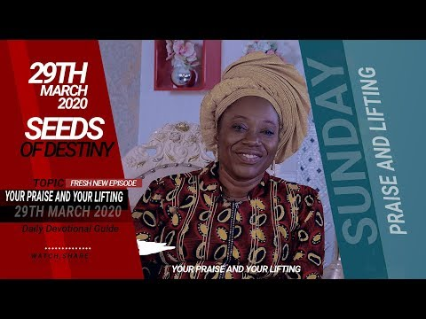 Dr Becky Paul-Enenche - SUNDAY, 29TH MARCH 2020