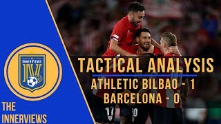 Athletic Bilbao vs Barcelona 1-0 | Tactical Analysis | How Athletic Club's Tactics UPSET Barcelona
