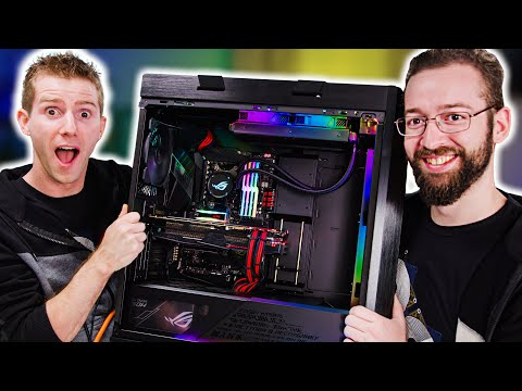 We Built His Dream Family Gaming Rig - ROG Rig Reboot 2019 - UCXuqSBlHAE6Xw-yeJA0Tunw
