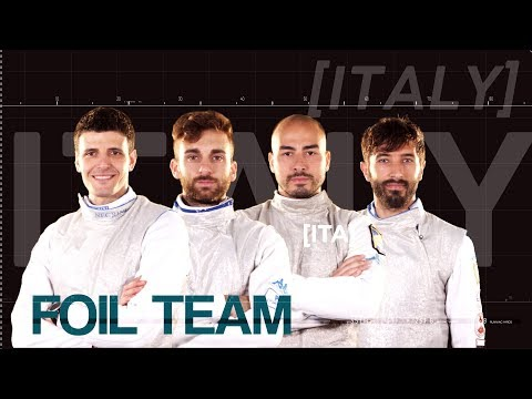 Italian foil team // Road to Tokyo 2020
