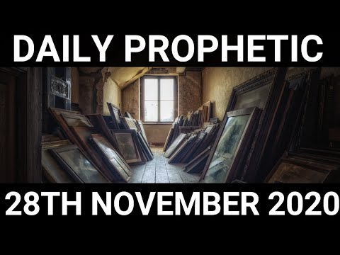 Daily Prophetic 28 November 2020 3 of 12