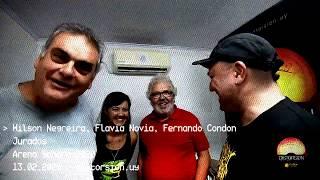 WIlson Negreira, Flavia Novoa y Fernando Condon: jurados de Arena Sonora 2020 (13.02.2020)