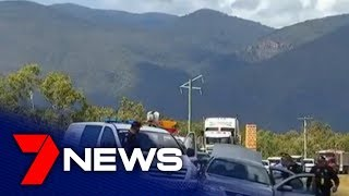 18-year-old Ayr man arrested after a dramatic highway chase  | 7NEWS